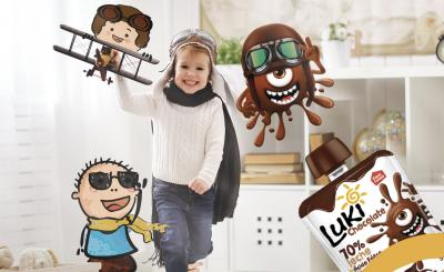 luki chocolate - snacks